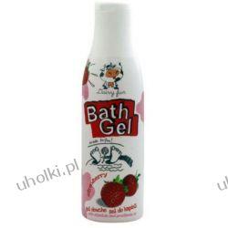 DAIRY FUN Strawberry Gel, Żel pod prysznic i do kąpieli Truskawka, 400 ml