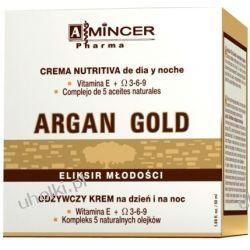 MINCER PHARMA Argan Gold, Głęboko odżywczy krem na dzień i noc, cera sucha, wiotka, szara, 50 ml