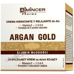 MINCER PHARMA Argan Gold, Krem nawilżająco - kojący na dzień, cera sucha, szorstka 50 ml