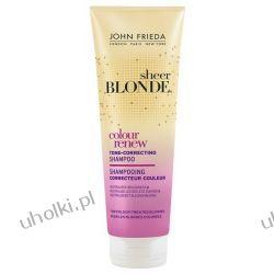 JOHN FRIEDA Sheer Blonde Colour Renew Conditioner, Odżywka neutralizująca żółty odcień na włosach blond, 250 ml