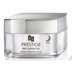 AA Prestige Pro-Sensitive, Kojąca regeneracja krem na noc, cera bradzo wrażliwa i alergiczna, 50 ml