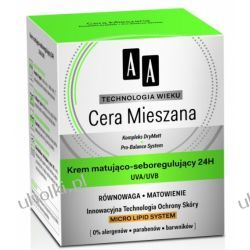 AA Technologia Wieku Cera Mieszana, Krem matująco - seboregulujący 24h UVA/UVB, 50 ml