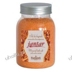 FARMONA Jantar, Sól mineralno - bursztynowa do kąpieli, 600g