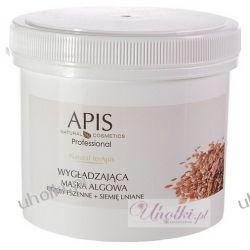 APIS Natural TerApis, Maska algowa wygładzająca otręby pszenne i siemię lniane, każda cera, 250g