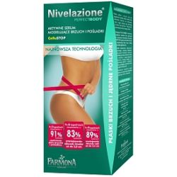FARMONA Nivelazione Perfect Body, Aktywne serum modelujące brzuch i pośladki z kompleksem antycellulit Cellu STOP, 125 ml...