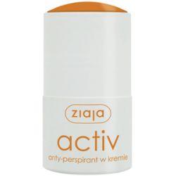 ZIAJA Anty-perspiranty, Anty-perspirant w kremie Activ, 60 ml...