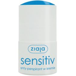ZIAJA Anty-perspiranty, Anty-perspirant w kremie Sensitiv, 60 ml...
