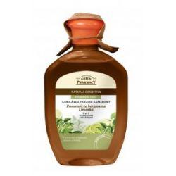 GREEN PHARMACY, Olejek do kąpieli i żel pod prysznic 2w1 Bergamotka i Limonka, energizujący, 250 ml...