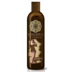 SPA Vintage Body Oil, Aromaterapeutyczny żel pod prysznic z olejem makadamia Macadamia Oil, 200 ml...