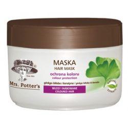MRS. POTTERS, Maska Ginko Biloba i Keratyna, włosy farbowane, 500 ml...