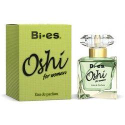 BI-ES Oshi Green  EDP, Damska woda perfumowana, linia kwiatowo-drzewna, 50 ml...