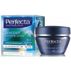DAX Perfecta Dekoder Genów Młodości 35+, Przeciwzmarszczkowy krem wygładzający na dzień i na noc, 50 ml...