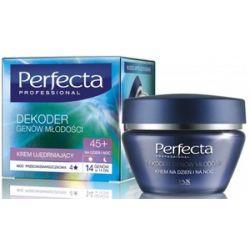 DAX Perfecta Dekoder Genów Młodości 45+, Przeciwzmarszczkowy krem ujędrniający na dzień i na noc, 50 ml...
