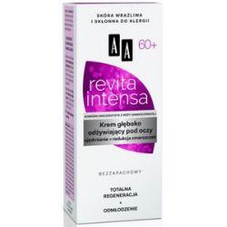 AA Revita Intensa 60+, Krem głęboko odżywiający pod oczy ujędrnienie + redukcja zmarszczek, 15 ml...