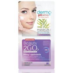 DERMO PHARMA Beauty 2GO, Maseczka samowchłaniająca Lifting i ujędrnienie, 2x5 ml...