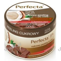 DAX Perfecta SPA Cukrowy peeling do ciała złuszczająco-ujędrniający CZEKOLADOWO-KOKOSOWY, 225 ml