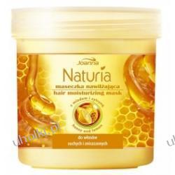 JOANNA Naturia Miód i cytryna Intensywna maska nawilżająca do włosów suchych i zniszczonych 250 ml