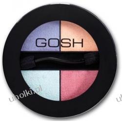 GOSH Quatro Eye Shadows,  Poczwórne cienie do powiek Quatro, 3g