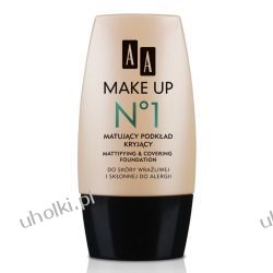 AA Make Up, Matujący podkład kryjący do cery tłustej i mieszanej 30 ml
