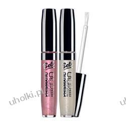 BELL Prismatic Multicolor Lip Gloss Błyszczyk z multikolorowymi drobinkami 3D, 6 ml