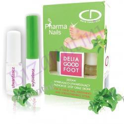 DELIA Pharma Nails Zestaw wybielająco-utwardzający paznokcie
