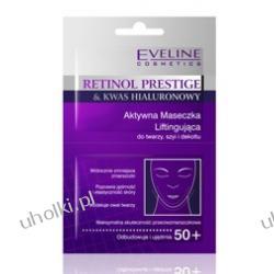 EVELINE RETINOL PRESTIGE Aktywna maseczka liftingująca do twarzy, szyi i dekoltu 50+