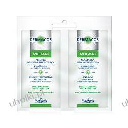 FARMONA Dermacos Anti-Acne Maseczka przeciwtrądzikowa i peeling delikatnie złuszczający z bioaktywnym wyciągiem z borowiny