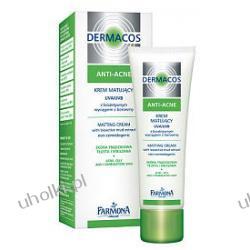 FARMONA Dermacos Anti-Acne Krem matujący, UVA/UVB z bioaktywnym wyciągiem z borowiny
