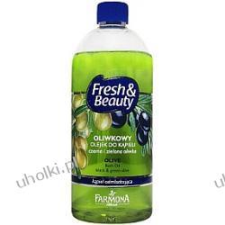 FARMONA Fresh & Beauty, Oliwkowy olejek do kąpieli, Czarna i zielona oliwka, Kąpiel odmładzająca