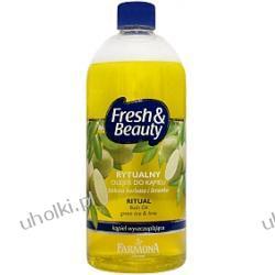 FARMONA Fresh & Beauty, Rytualny olejek do kąpieli, Zielona herbata i limonka, Kąpiel wyszczuplająca