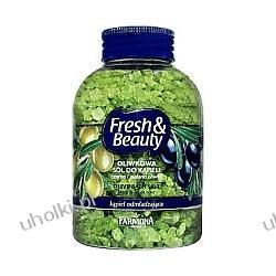FARMONA Fresh & Beauty, Oliwkowa sól do kąpieli, Czarna i zielona oliwka, Kąpiel odmładzająca