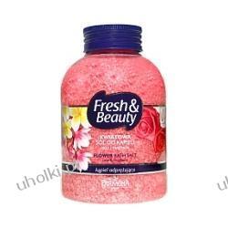 FARMONA Fresh & Beauty, Kwiatowa sól do kąpieli, Róża i magnolia, kąpiel odświeżająca