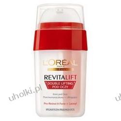 L'Oreal, Revitalift, Revitalift Double Lifting pod oczy, Liftingujący, dwufazowy krem na dzień i na noc, 40+