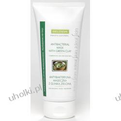 BIELENDA Ideal Skin, Antybakteryjna Maseczka z Glinką Zieloną, cera mieszana, tłusta, trądzikowa