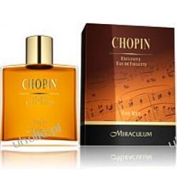 MIRACULUM Chopin, Męska Ekskluzywna woda toaletowa 100 ml, NOWOŚĆ!