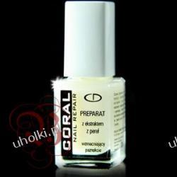 DELIA, Odżywka przeciw rozdwajaniu, Preparat z ekstraktem z pereł do pękających paznokci