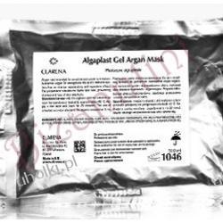 CLARENA Algaplast Gel Argan Mask, Regenerująca maska plastyczna z marokańskim olejkiem arganowym