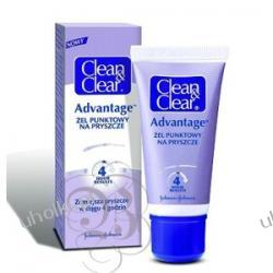 Johnson&Johnson, Clean & Clear Advantage - Żel punktowy na pryszcze 15 ml