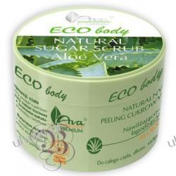 AVA Premium EcoBody®, Naturalny Peeling Cukrowy nawilżająco-łagodzący – Aloes, 150 ml