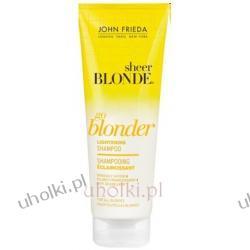 JOHN FRIEDA Sheer Blonde, Go Blonder Lightening Shampoo - szampon rozjaśniający do włosów blond