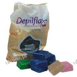 DEPIFLAX, Wosk bezpaskowy twardy KAKAO, do twarzy i ciała