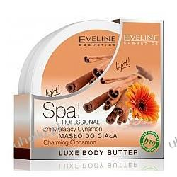 EVELINE SPA Professional, Masło do ciała Zniewalający cynamon, 200 ml