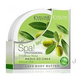EVELINE SPA Professional, Masło do ciała Zmysłowa oliwka, 200 ml
