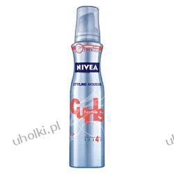 NIVEA, Flexible Curls Pianka do włosów kręconych i falowanych, 150 ml