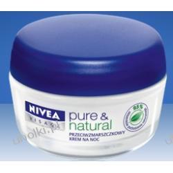 NIVEA, PURE & NATURAL Krem przeciwzmarszczkowy z olejkiem arganowym na noc, 50 ml