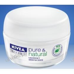 NIVEA, PURE & NATURAL Łagodzący Krem na dzień do cery suchej i wrażliwej, 50 ml