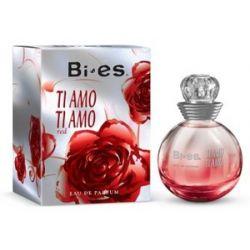 BI-ES Ti Amo Ti Amo EDP, Damska woda perfumowana, linia kwiatowo-owocowa, 100 ml...