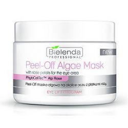 BIELENDA  Professional, Peel-Of Maska algowa na okolice oczu z płatkami róży, 90g/230 ml...