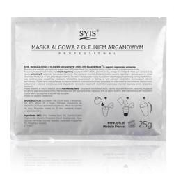 SYIS Peel - Off Shaker Mask, Maska algowa z olejkiem arganowym, cera dojrzała, wrażliwa, 25 g...
