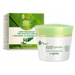 AVA Eco Garden, Certyfikowany organiczny krem z ekstraktem ze świeżego ogórka 20+, 50 ml...